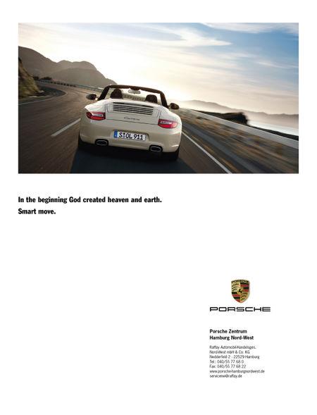 Porsche-god