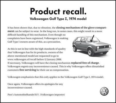 Volkswagen-golf-recall